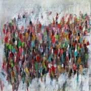 Un Gachis De Peinture  Poster by Brooke Wandall
