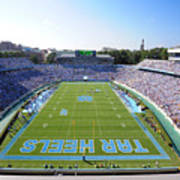 Unc Kenan Stadium Endzone View Poster by Replay Photos