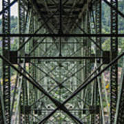 Under Deception Pass Bridge Poster