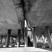 Under The Viaduct A Urban View Poster