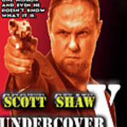 Undercover X Poster by The Scott Shaw Poster Gallery