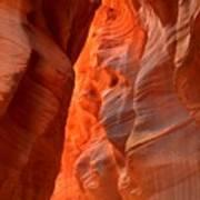 Underground Desert Lights Poster