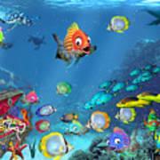 Underwater Fantasy Poster