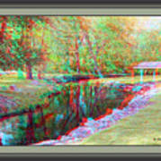 Unicorn Stream - Use Red-cyan 3d Glasses Poster