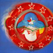 Union Blue Poster