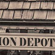 Union Depot Poster