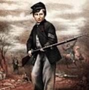 Union Drummer Boy John Clem Poster