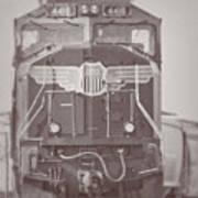 Union Pacific Train Poster