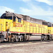 Union Pacific Up - Railimages@aol.com Poster
