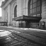 Union Station Kansas City In The Snow Poster