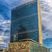 United Nations Headquarters Poster