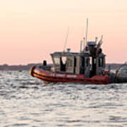 United States Coast Guard Heading Out Poster