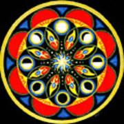UNIVERSAL LIGHT  Mandala Poster