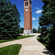 University Of Northern Iowa Bell Tower Poster