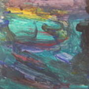 Untitled 118 Original Painting Poster