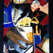 Untitled-collage Painting Poster