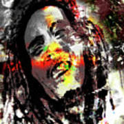 Untitled Reduction 3 Bob Marley Poster