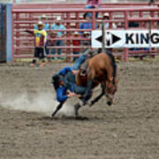 Bronco Rider Three Poster