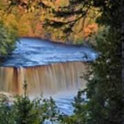 Upper Tahquamenon Falls In October Poster