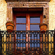 Upper Window Tlaquepaque Poster
