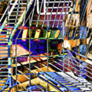 Urban Abstract 172 Poster