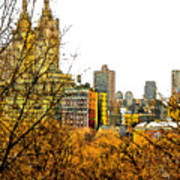 Urban Autumn In Nyc Poster