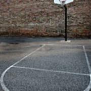 Urban Basketball Street Ball Outdoors Poster