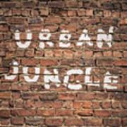 Urban Jungle Poster