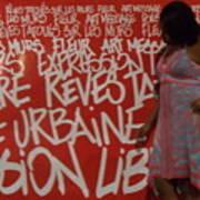 Urban Paris Poster