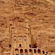 Urn Tomb, Petra Poster
