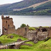 Urquhart Castle I Poster
