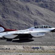 U.s. Air Force Thunderbird F-16 Poster