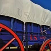 U S Army Supply Wagon Poster