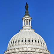 Us Capitol Building Dome Poster