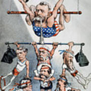 U.s. Grant Cartoon, 1880 Poster by Granger
