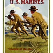 Us Marines - Soldiers Of The Sea Poster