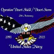Us Navy Desert Storm Poster