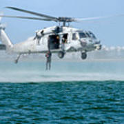 U.s. Navy Sh-60s Sea Hawk Helicopter Poster