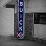 Us Route 66 Smaterjax Dwight Il Buick Signage Sc Poster