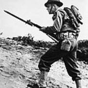 U.s World War II Infantry, 1942 Poster