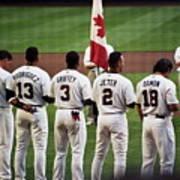 Usa-world Baseball Classic Poster