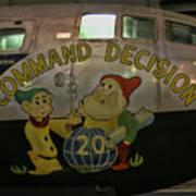 Usaf Museum B-29 Korea Poster