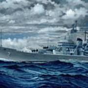 Uss Canberra Cag-2  Poster