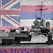 Uss Honolulu Poster
