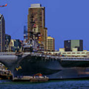 Uss Midway San Diego Ca Poster