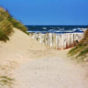 Utah Beach Normandy France Poster