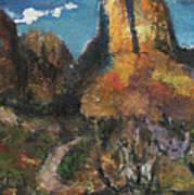 Utah Canyon Poster