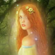 Utherworlds Lealinnia Poster by Philip Straub