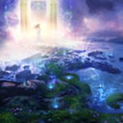 Utherworlds Passage To Hope Poster by Philip Straub