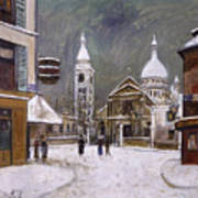 Utrillo: Montmartre, 1931 Poster